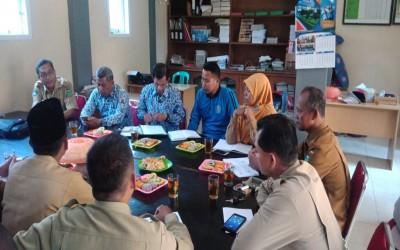 Rapat UNBK Sub Rayon Rimbo Ulu Tahun Pelajaran 2019/2020, di MTs Darul Hikam