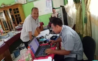 Penginputan Nilai Sistem Aplikasi Rapor Digital, MTsN 4 Tebo Sukses Cetak ARD